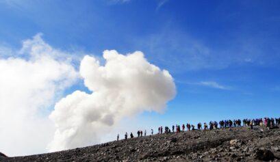climbing mount semeru