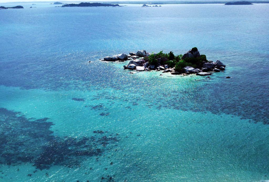 Lighthouse view belitung