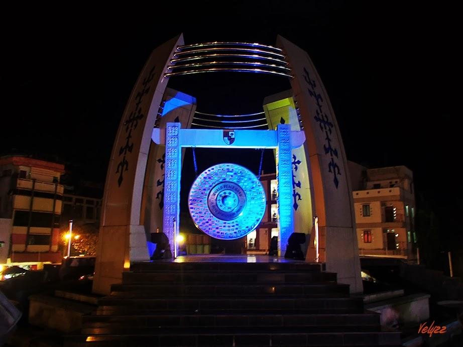 world peace gong ambon travel blog