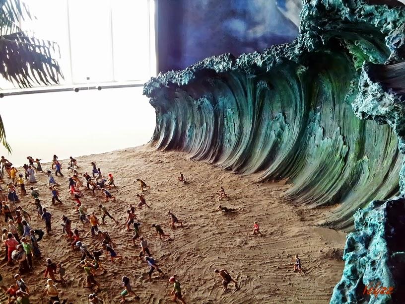 situation of tsunami