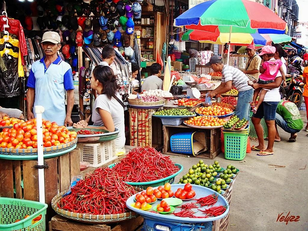 Market in Ambon travel blog