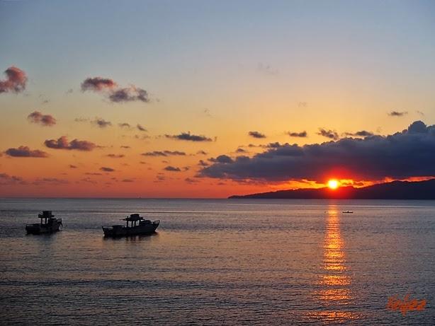 Sunset ambon