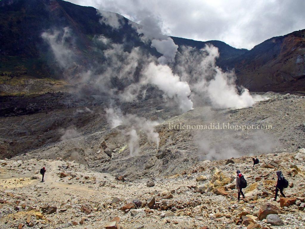 Kawah Gunung Papandayang