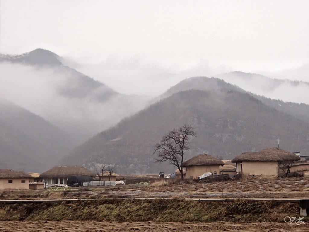 Hahoe folk village korea