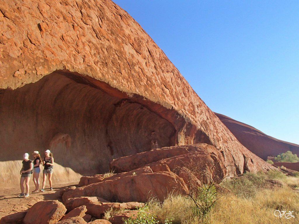 cave uluru road trip