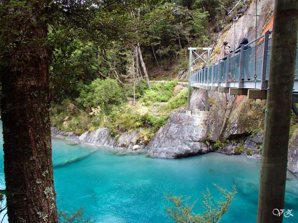 Blue Pool road trip new zealand south island