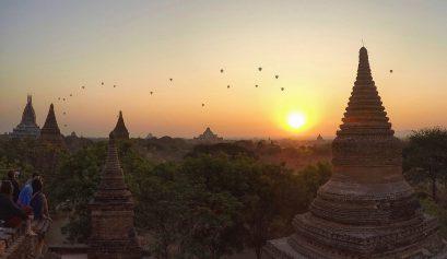Best Spot for sunrise in Bagan
