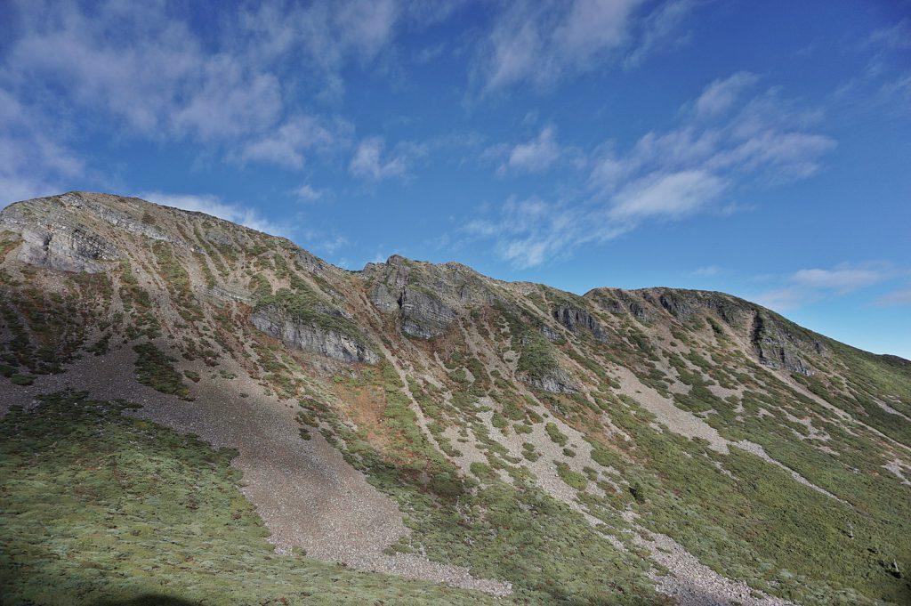 main peak snow mountain