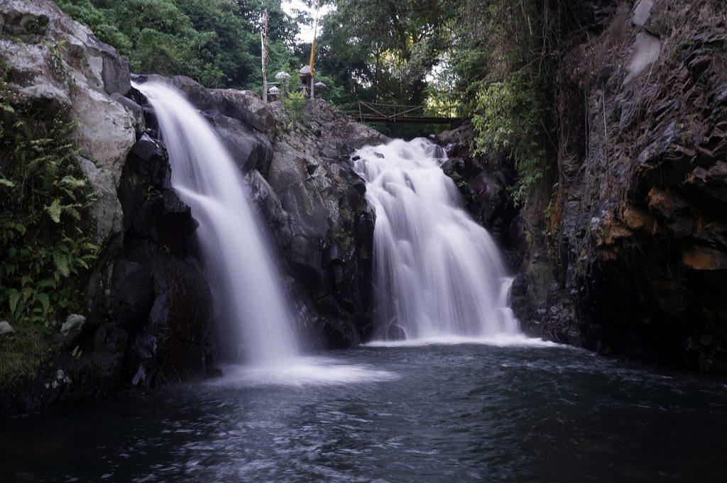 Kembar waterfalls in bali