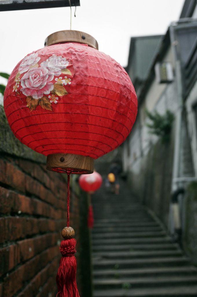 Lantern around Qitang