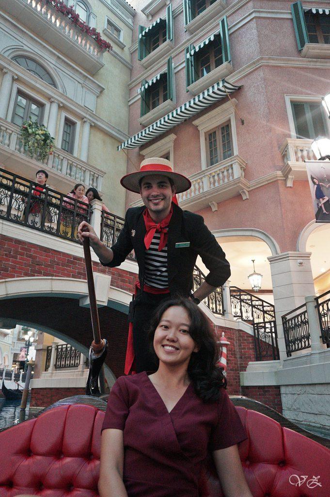 Gondola Ride Venetian Macao