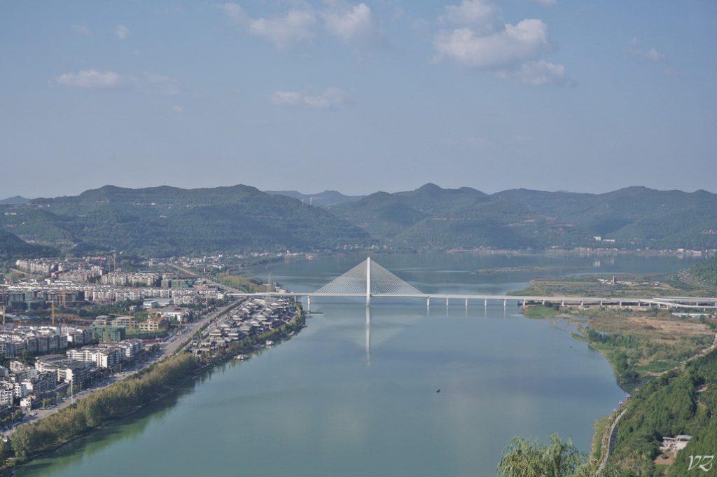 Jialing river langzhong