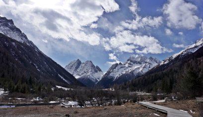 four sister mountain