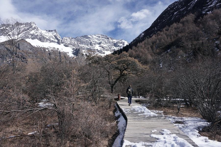 trekking shuangqiao valley