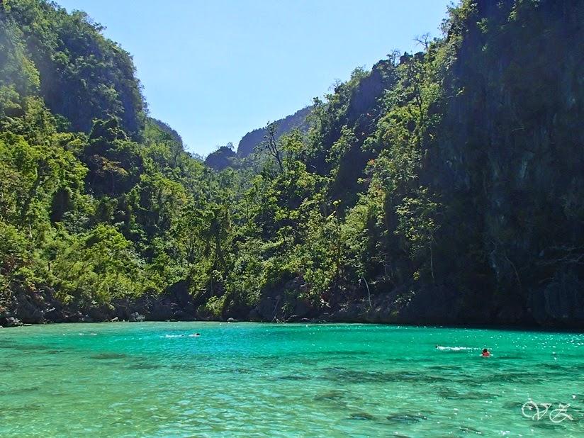 green lagoon kayangan lake coron