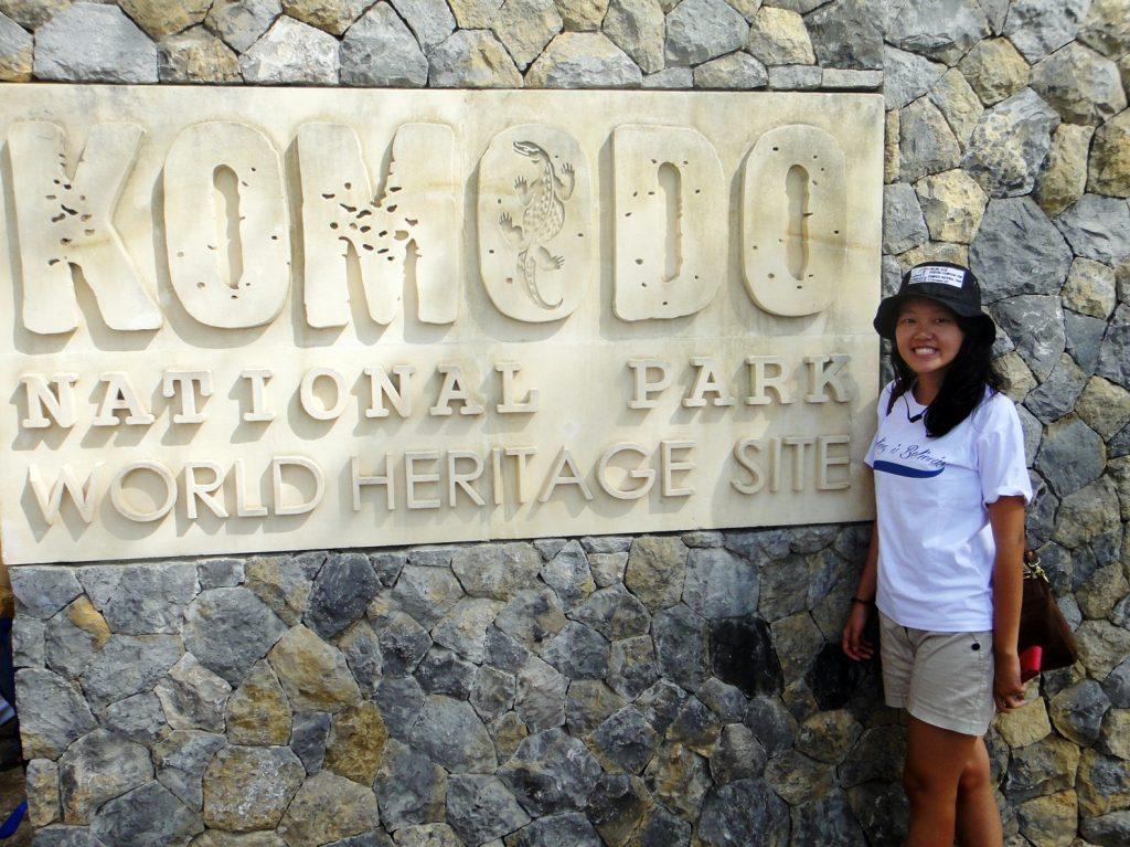 Entrance Komodo National Park