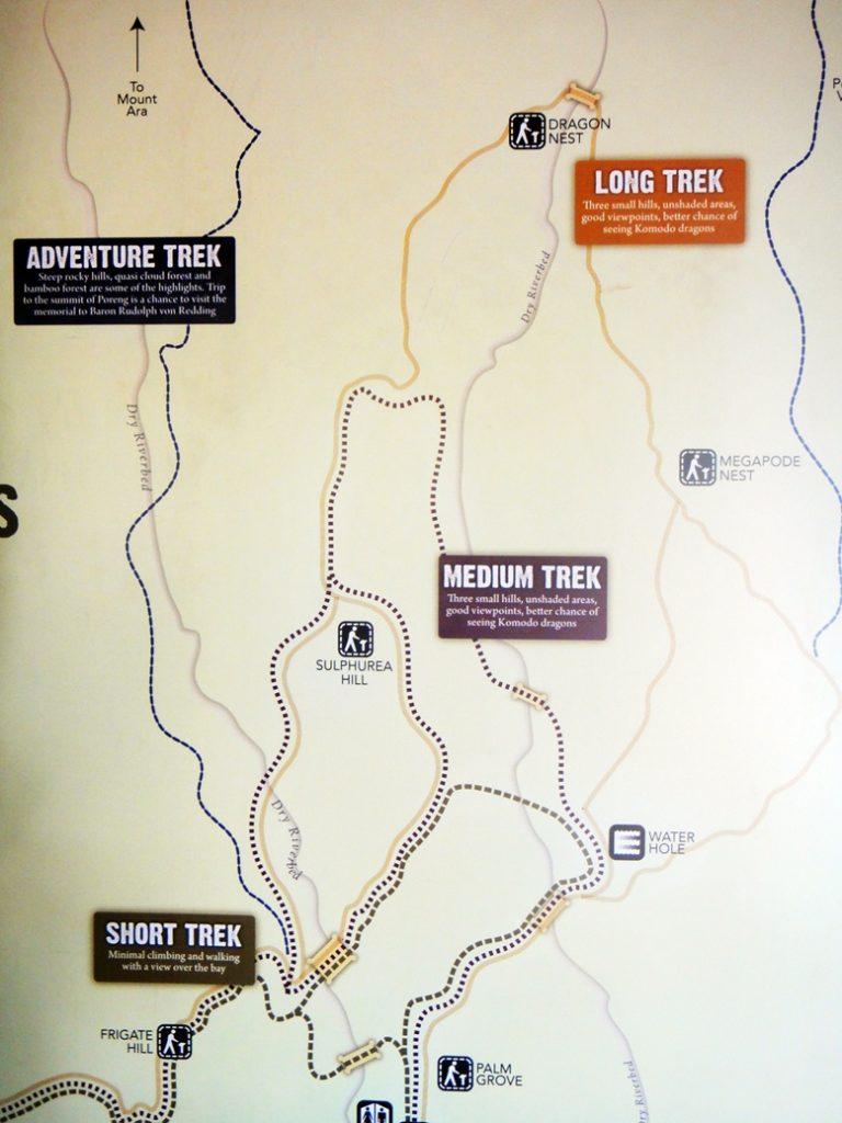 Komodo Island Hiking Trail